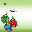 15N3 - Christmas Balls