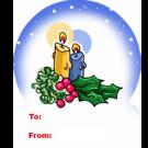 15P6 - Christmas Candles
