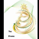 15PA - Christmas Tree Swirls