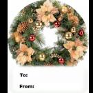 15PE - Christmas Wreath 3